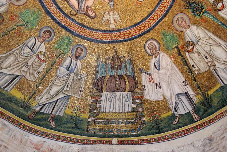 Hetoimasia mosaic (Ravenna)