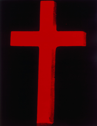 Warhol, Andy_Cross (Red)