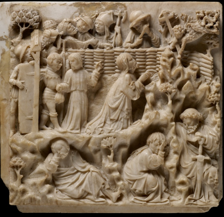 Agony in the Garden (alabaster)