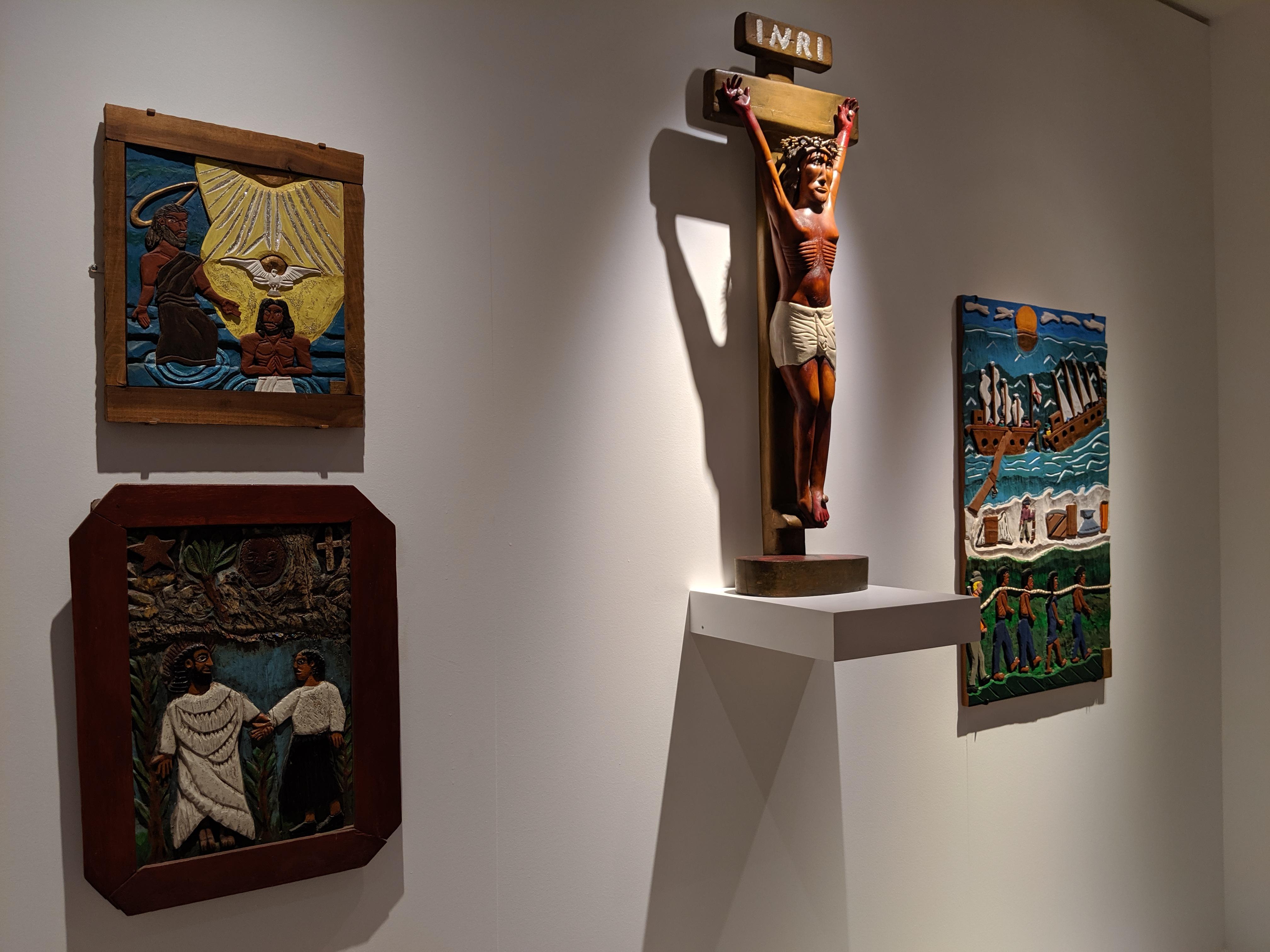High Museum of Art folk art (Almon, Pierce, Davis)