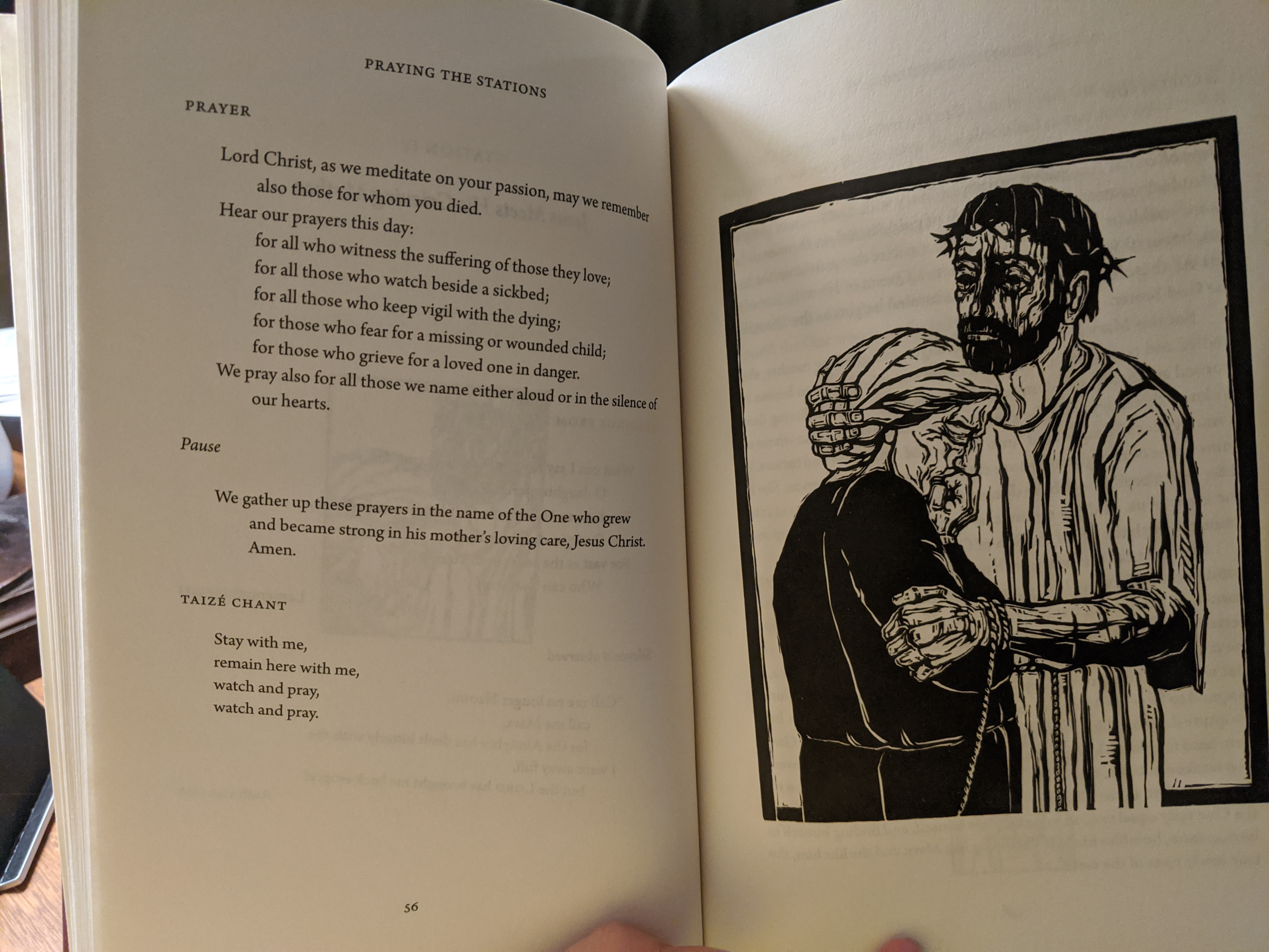 Praying the Stations of the Cross book