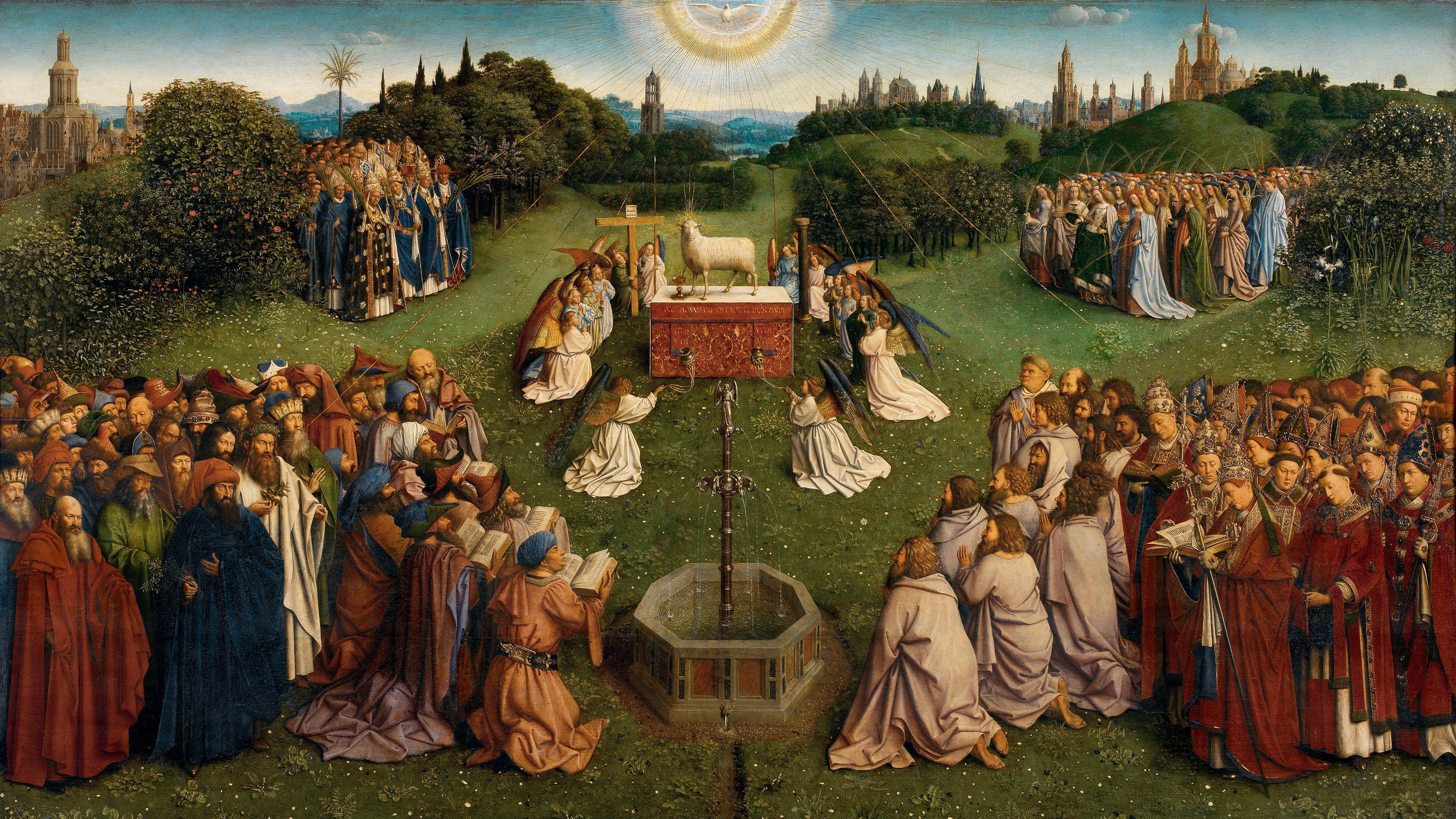 Adoration of the Mystic Lamb (Ghent Altarpiece)