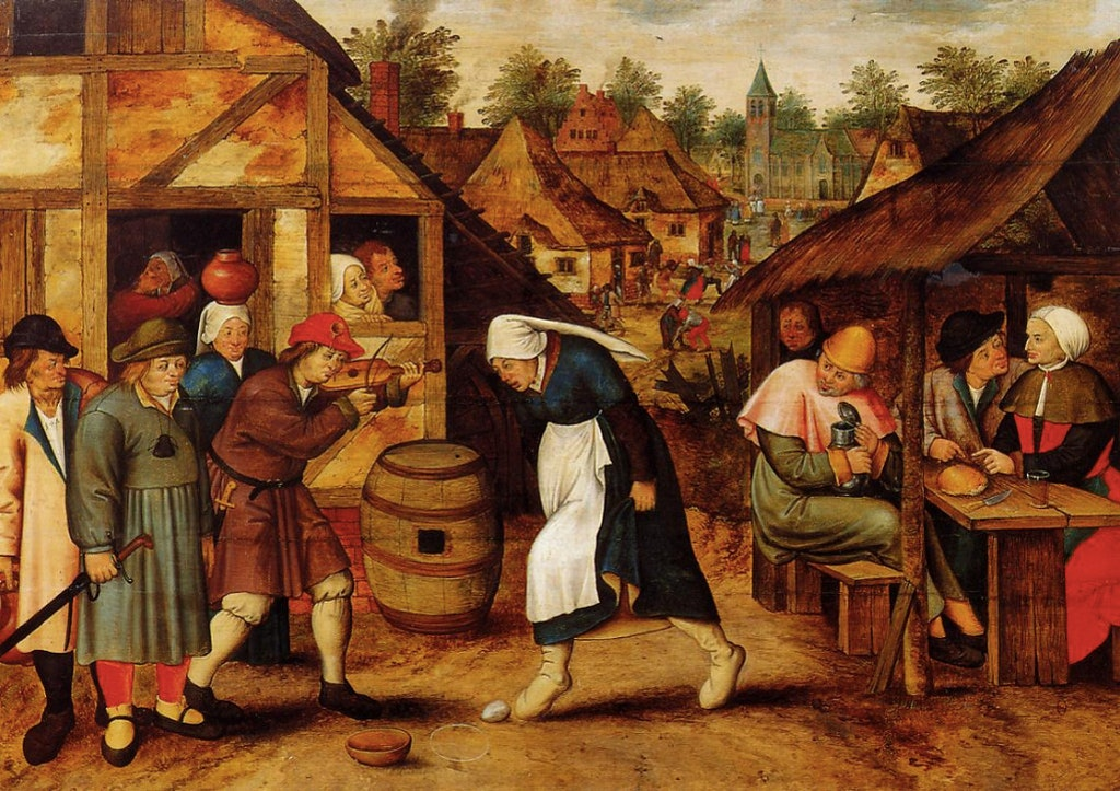 Brueghel the Younger, Pieter_The Egg Dance