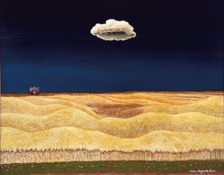 Cox, John Rogers_Wheat Field