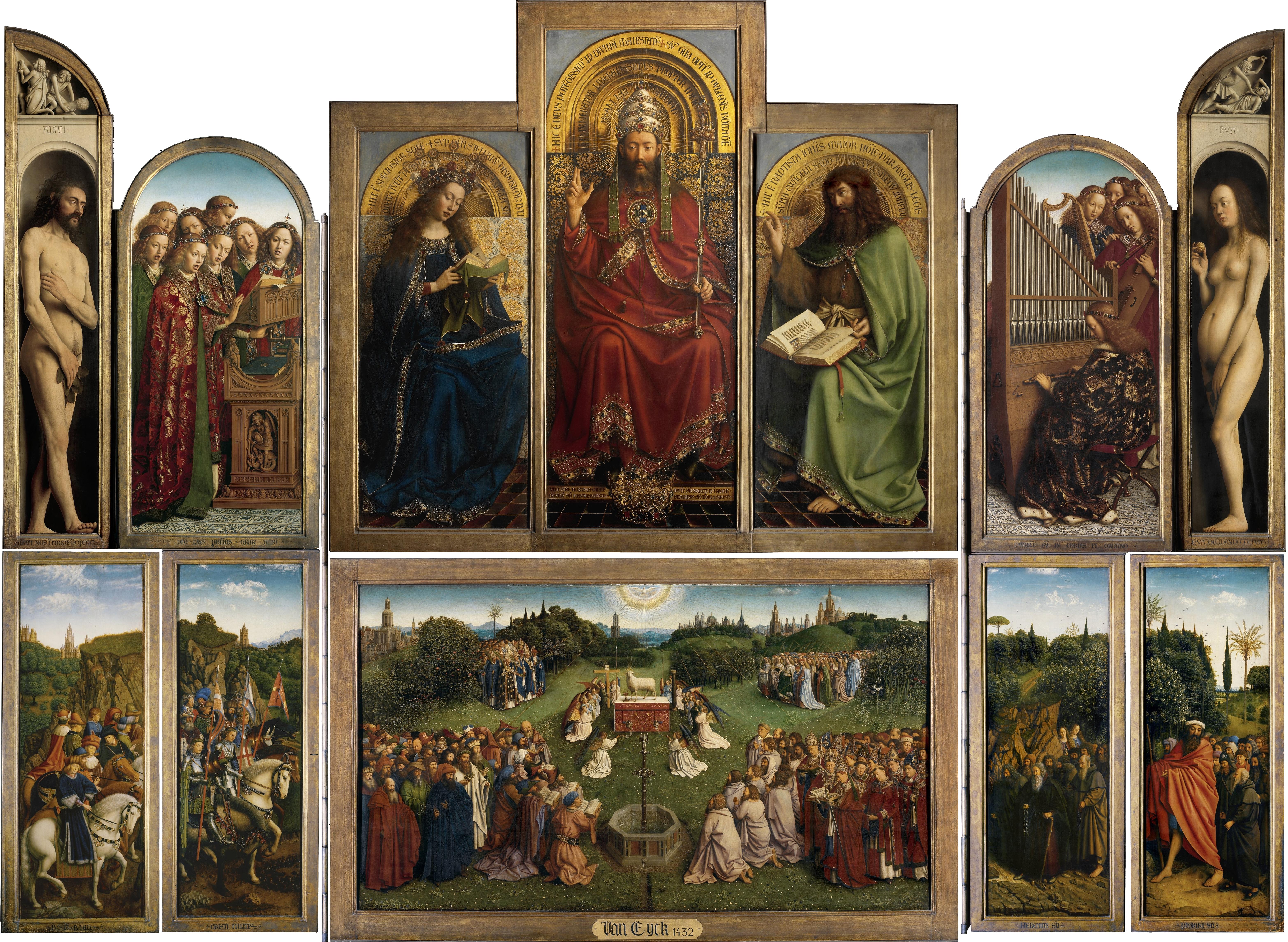 Ghent Altarpiece (open)