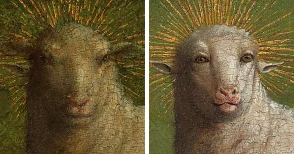 Ghent Altarpiece restoration