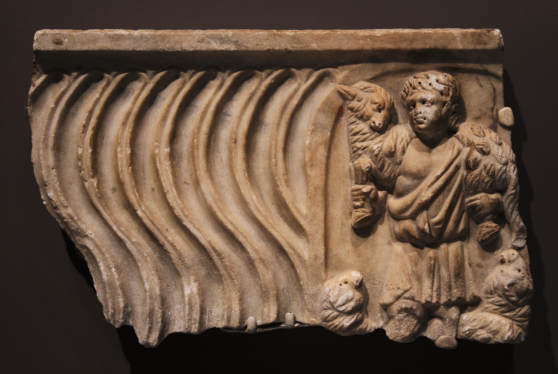 Good Shepherd (sarcophagus fragment)