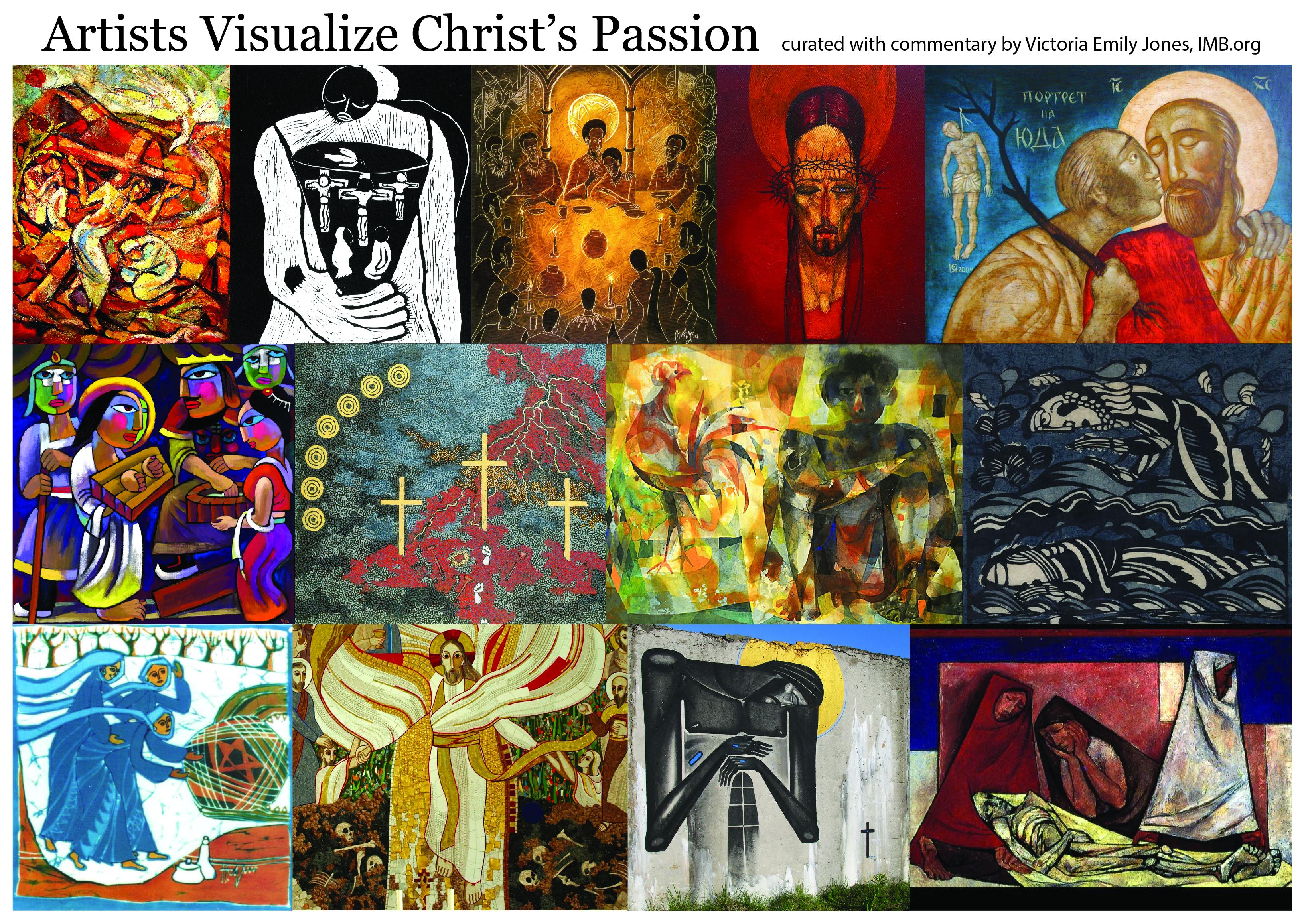 Holy Week art at IMB.org