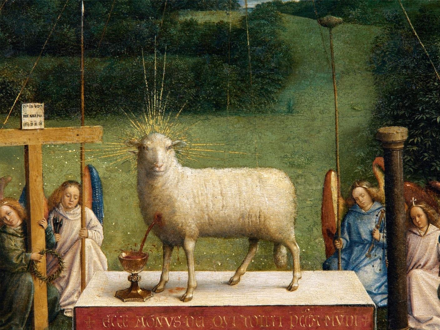 Mystic Lamb (detail)