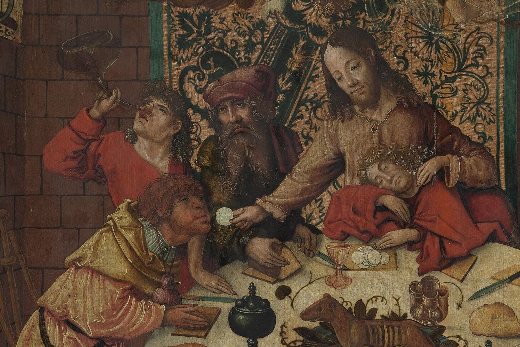 Ratgeb, Jorg_Last Supper (detail)