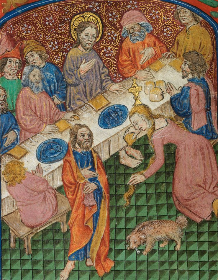 Supper at Bethany (Vaux Passional)