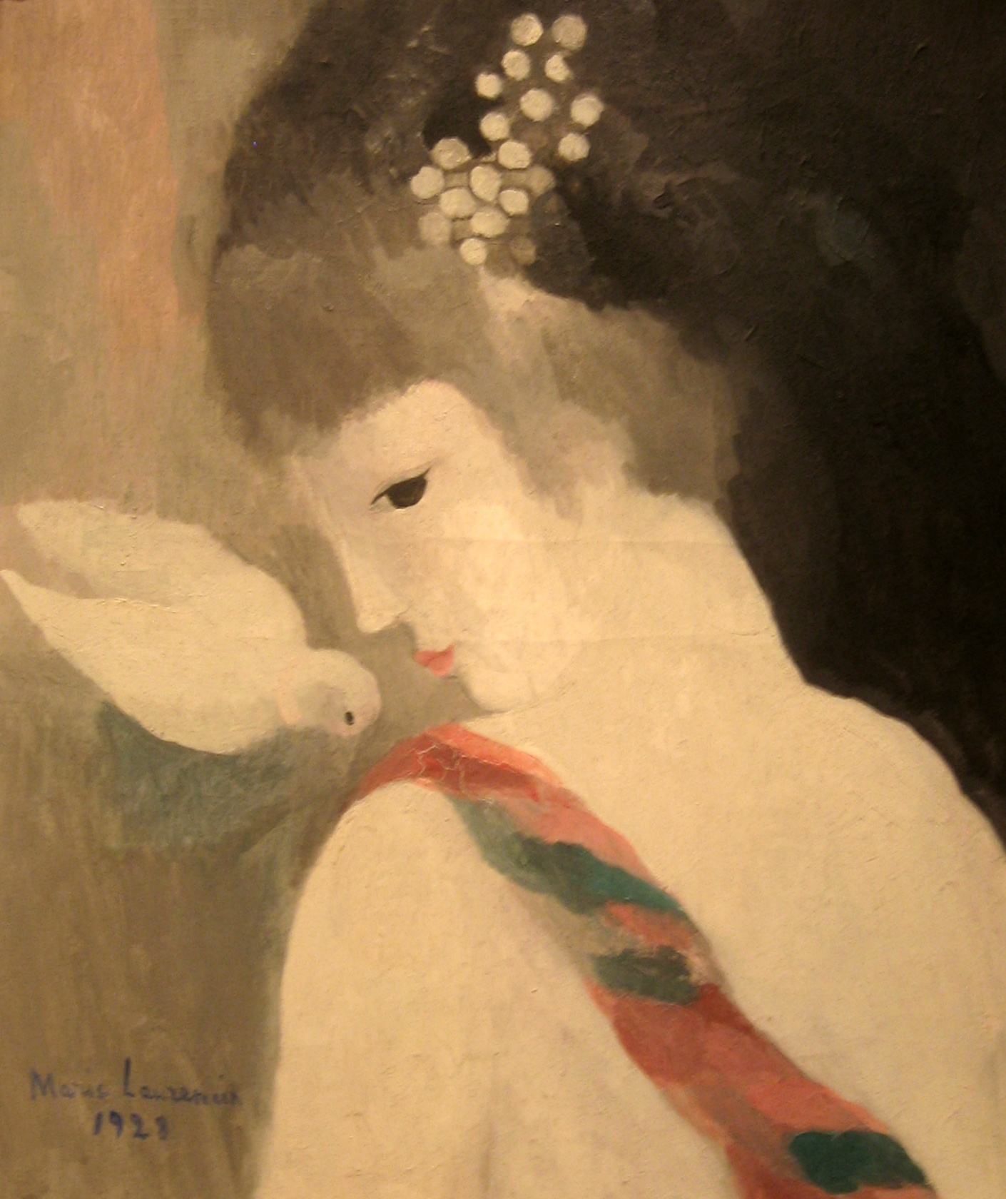 Laurencin, Marie_Girl with a Dove