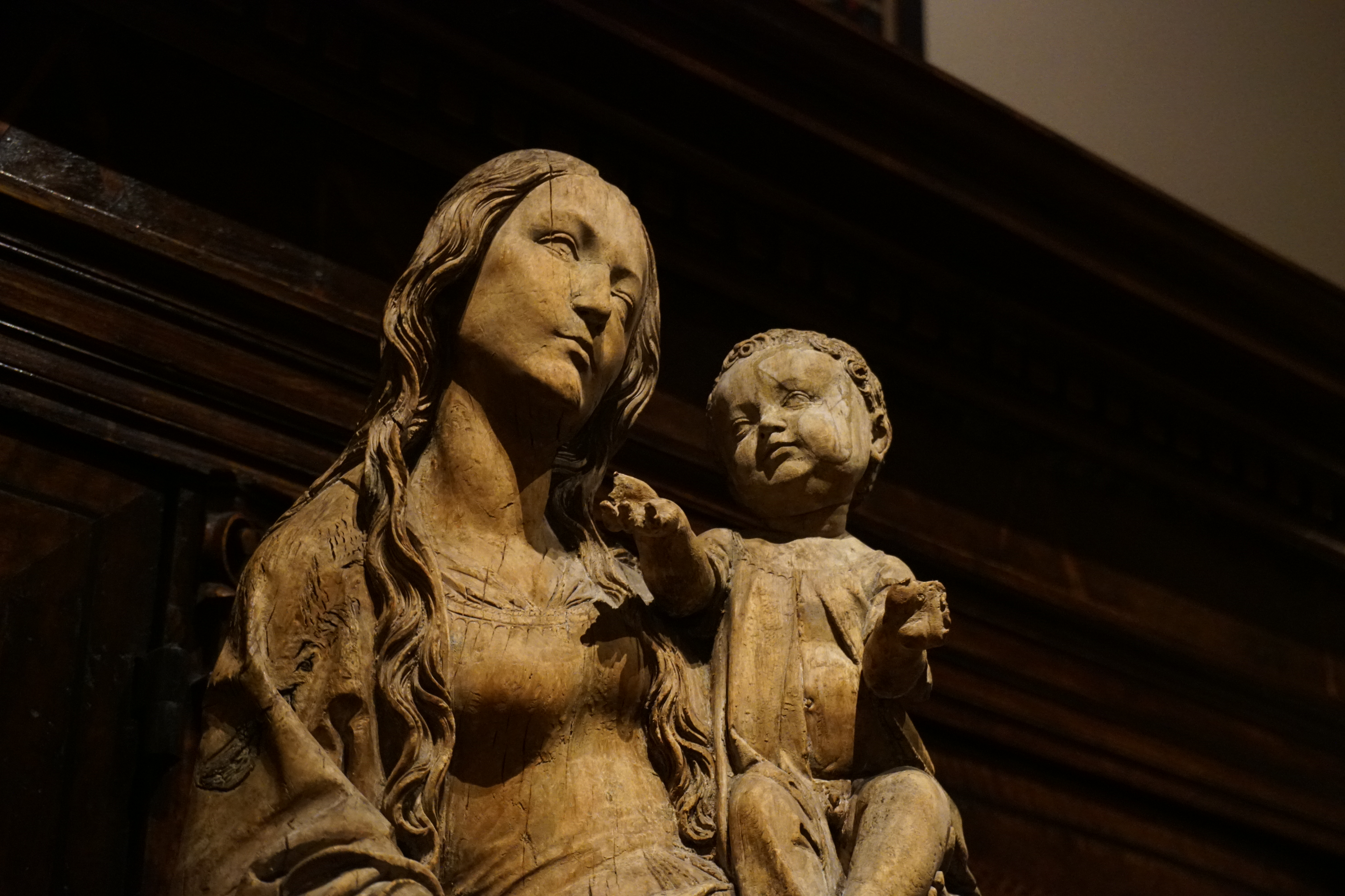 Riemenschneider, Tilman_Virgin and Child (detail)