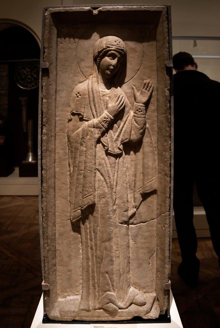 Virgin Hagiosoritissa (11th c)