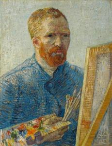 van Gogh, Vincent_Self-Portrait as a Painter