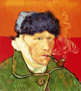 van Gogh, Vincent_Self-Portrait with Bandaged Ear and Pipe