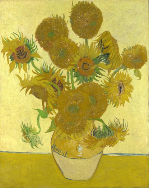 van Gogh, Vincent_Sunflowers