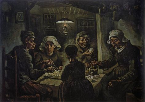 van Gogh, Vincent_The Potato Eaters