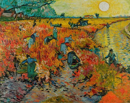 van Gogh, Vincent_The Red Vineyard