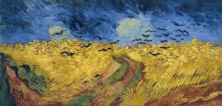 van Gogh, Vincent_Wheatfield with Crows