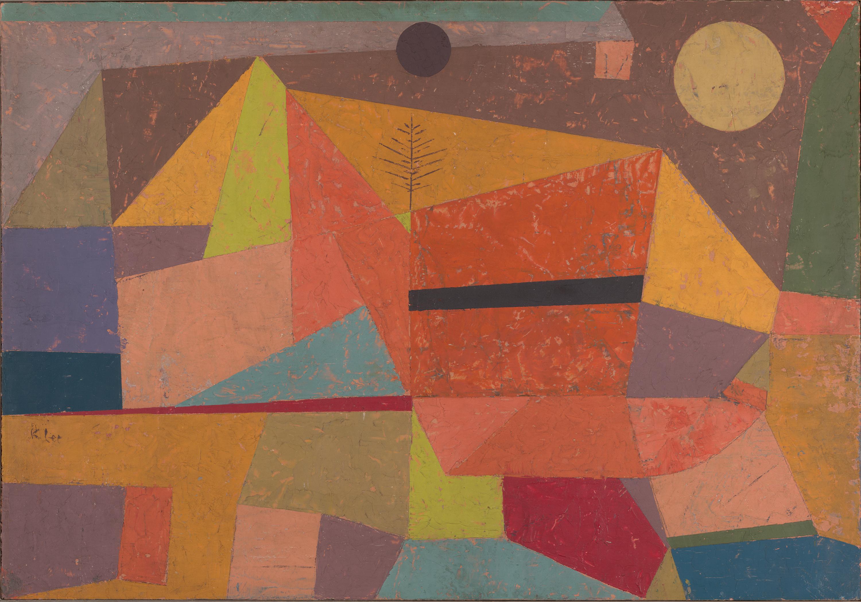 Klee, Paul_Joyful Mountain Landscape