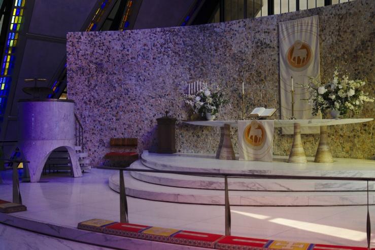 Cadet Chapel altar
