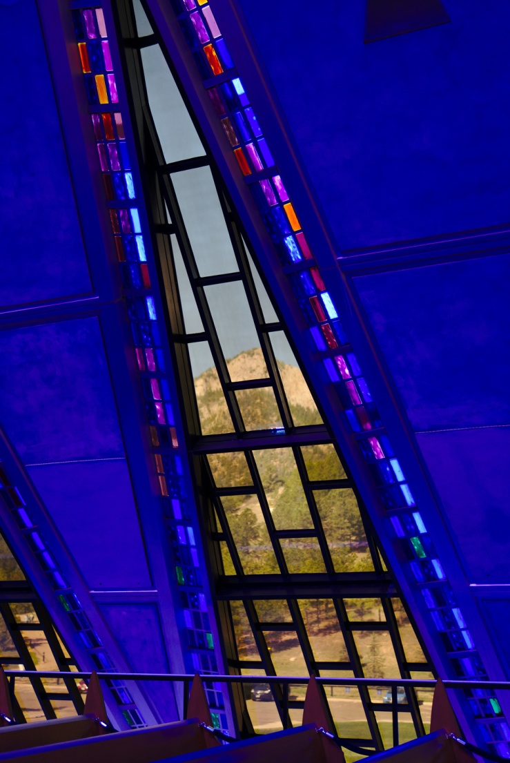 USAFA Cadet Chapel (Protestant Chapel)