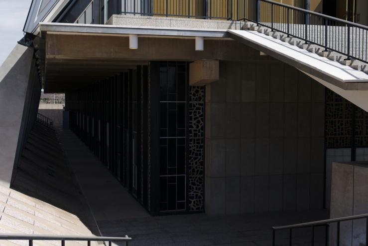 USAFA Cadet Chapel, lower level