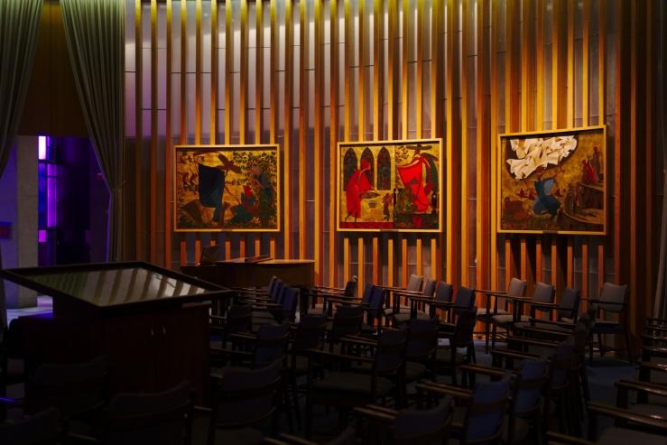 Shlomo Katz paintings, USAFA Jewish Chapel