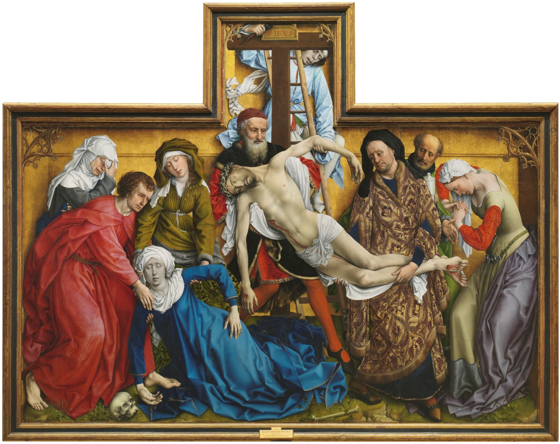 Weyden, Rogier van der_Descent from the Cross