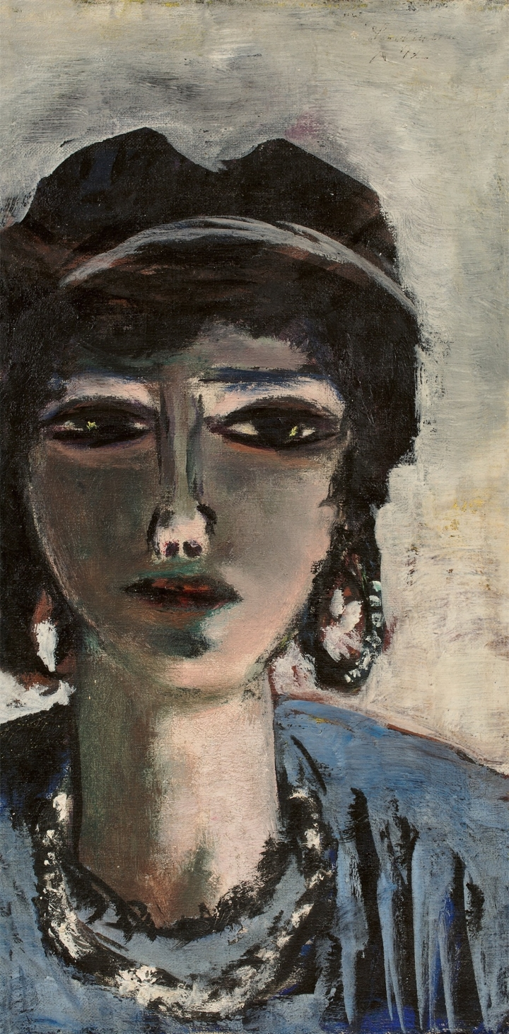 The Egyptian Woman by Max Beckmann