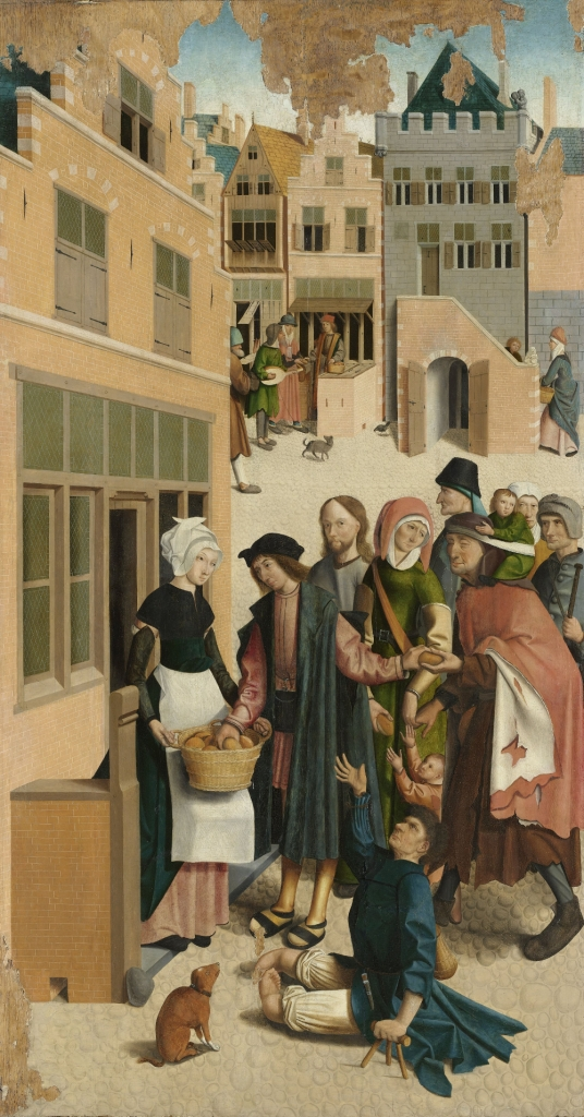 Feeding the Hungry by the Alkmaar Master