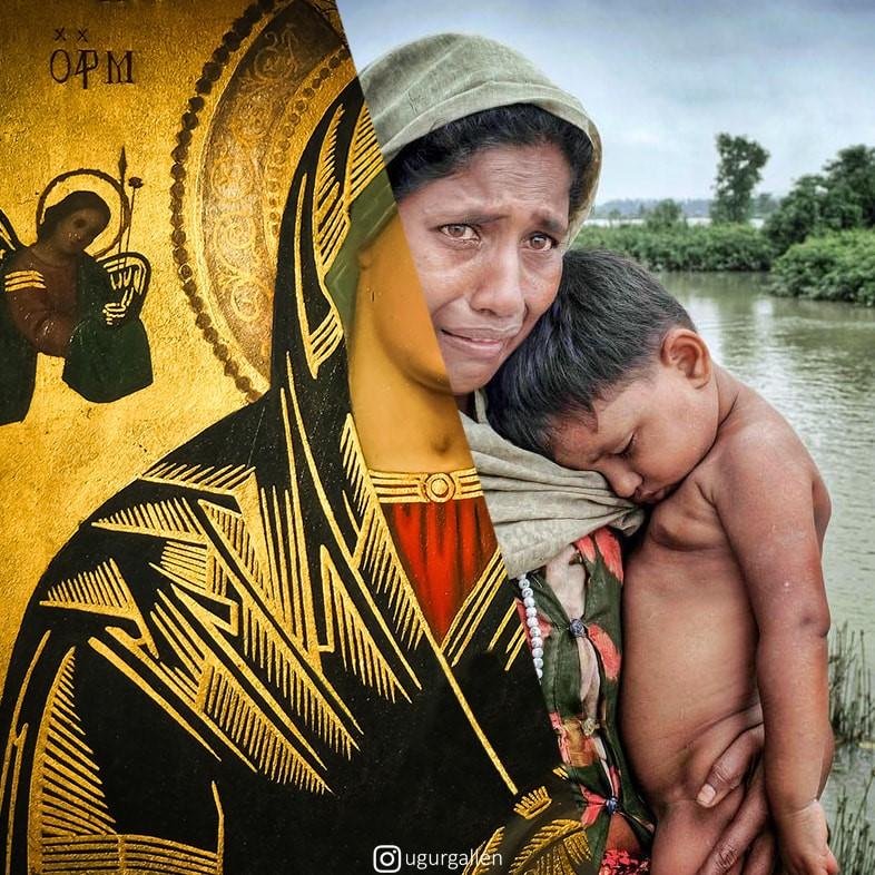 Ugur Gallenkus mash-up (Madonna and Child)