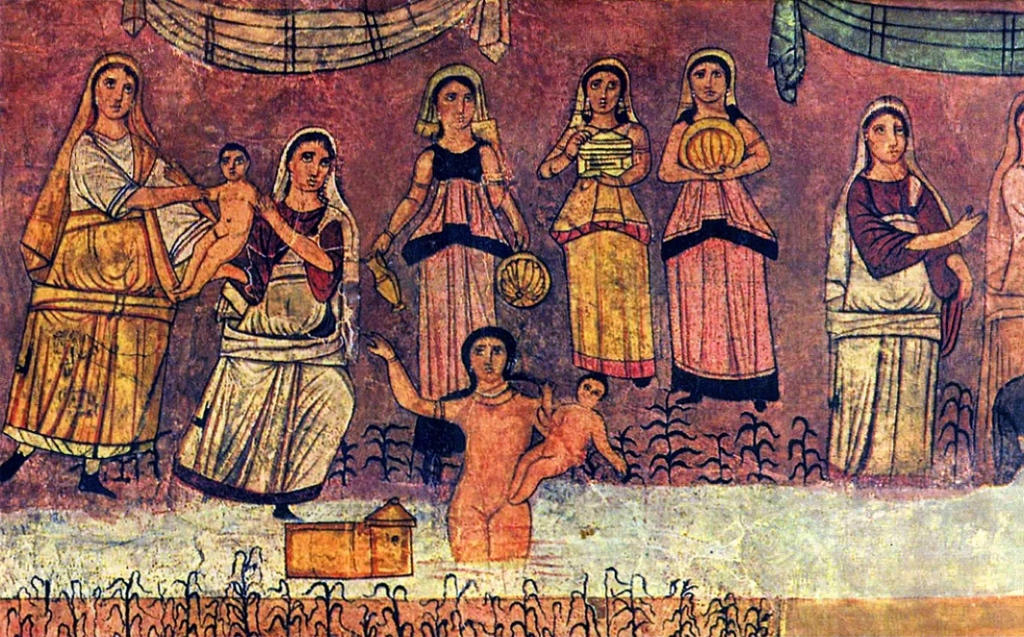 The Finding of Moses (Dura-Europos Synagogue)