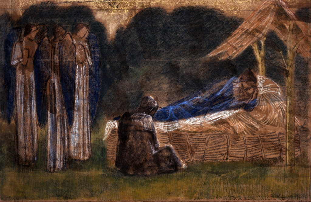Burne-Jones, Edward_Nativity (pastel)