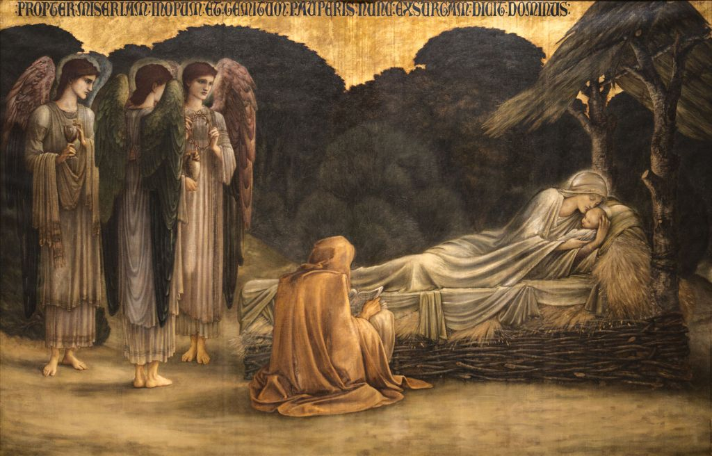 Burne-Jones, Edward_Nativity