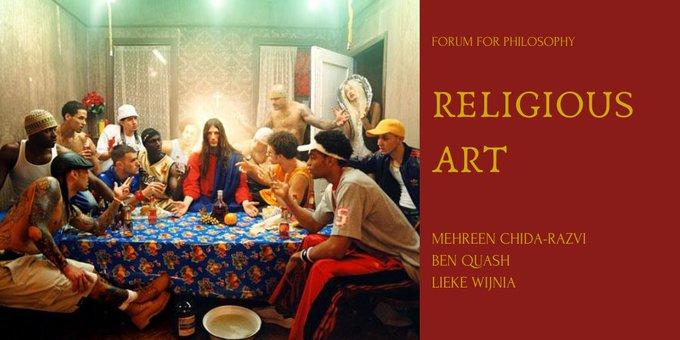 Religious Art Zoom panel