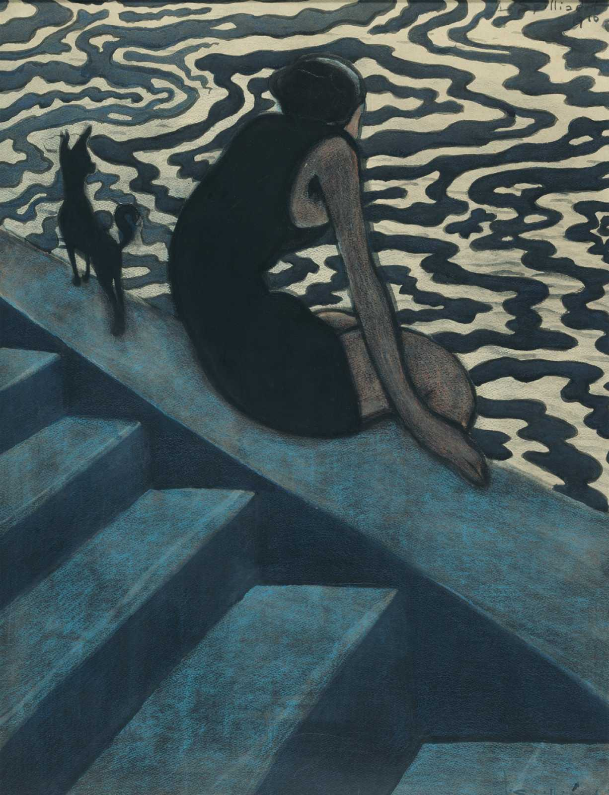Spilliaert, Léon_The Bather