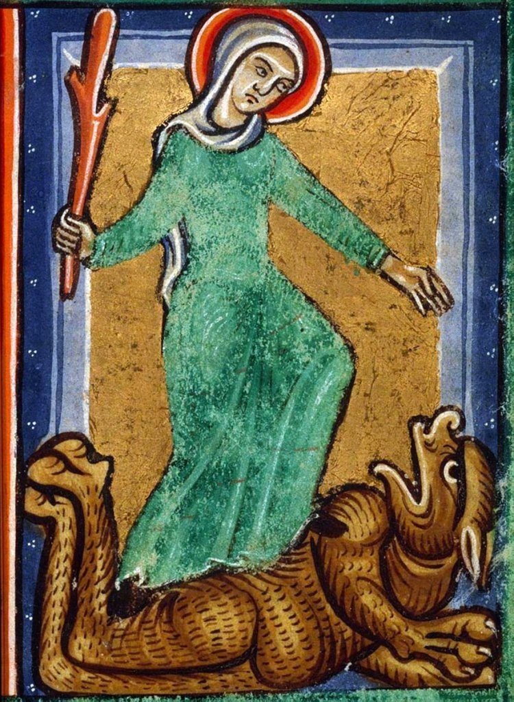 St. Juliana of Nicomedia and the devil