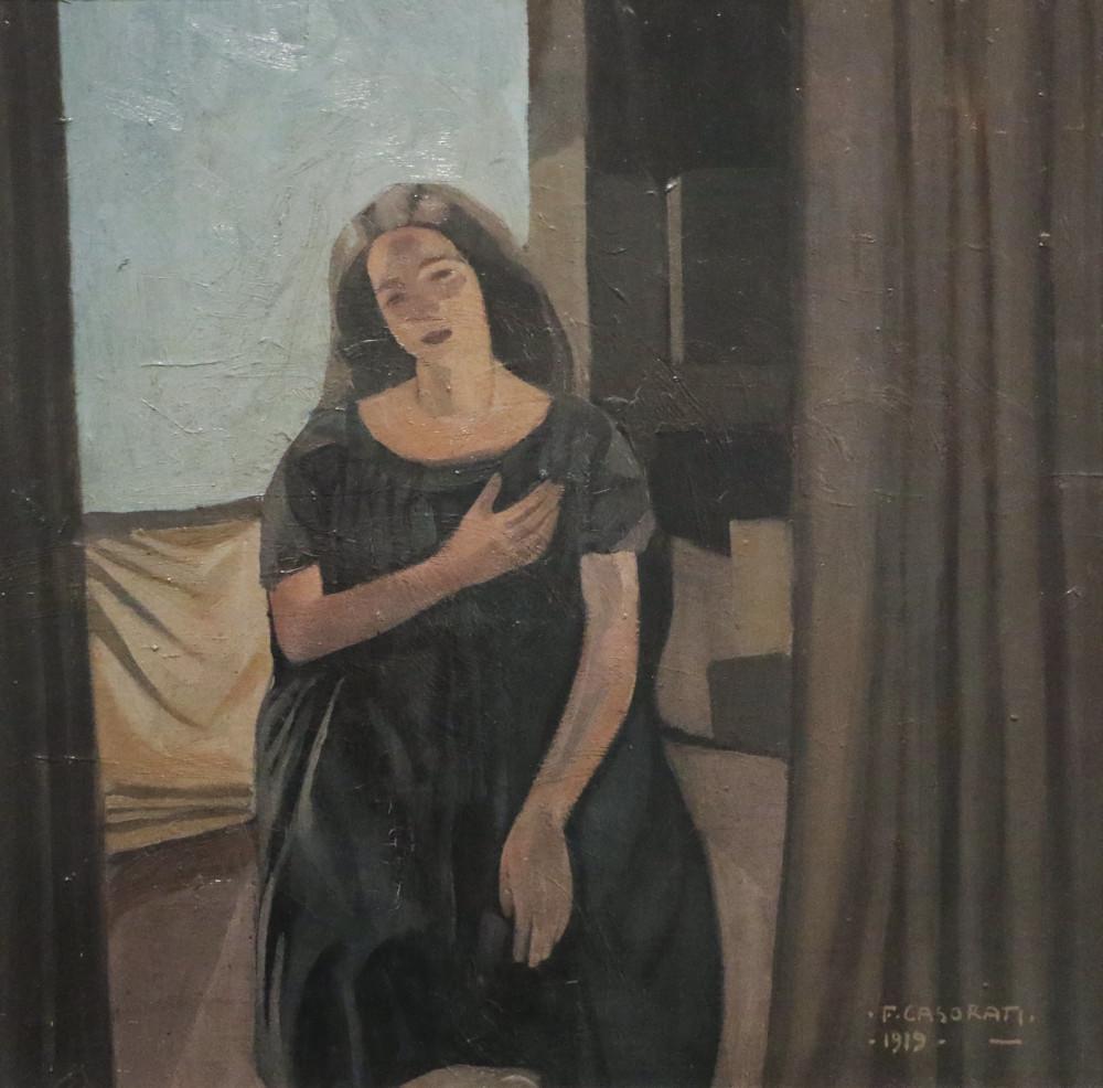 Casorati, Felice_Portrait study