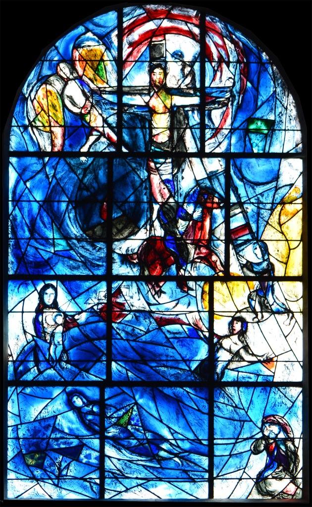East Window, Tudeley (Marc Chagall)