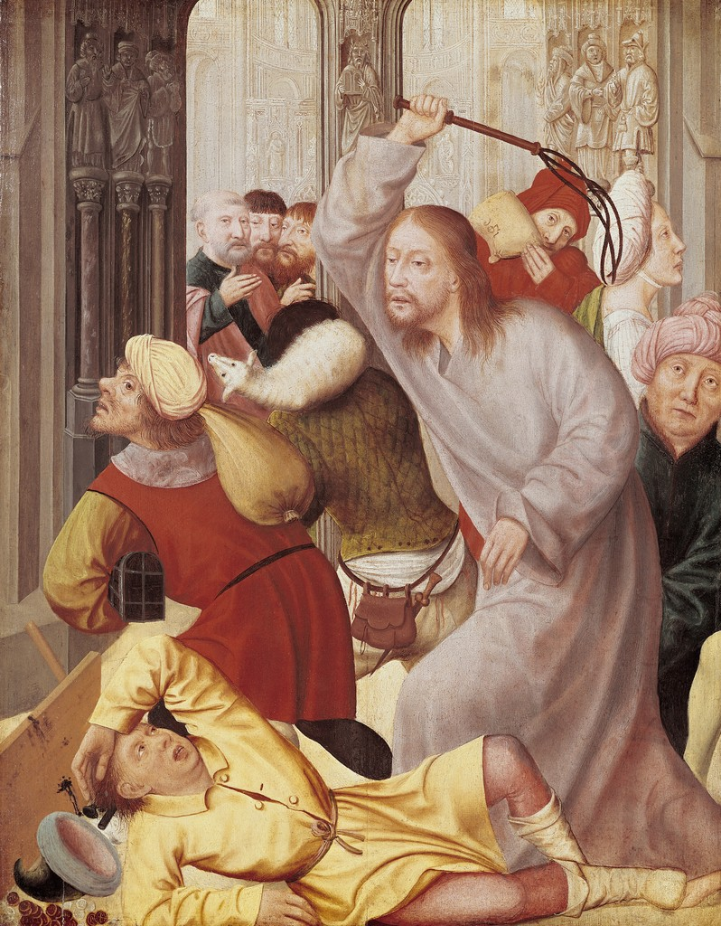 Matsys, Quentin_Jesus Chasing the Merchants from the Temple