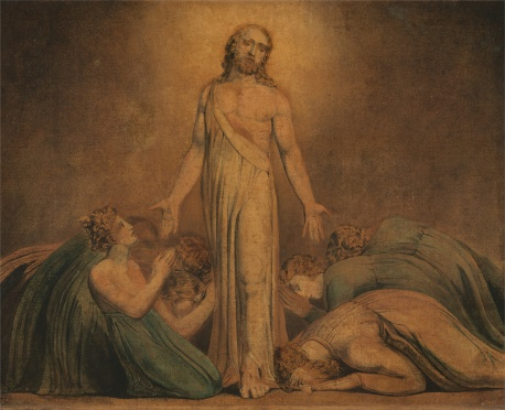 William Blake, Christ Appearing to the Apostles