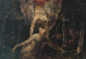 William Blake, The Agony in the Garden