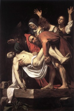 Caravaggio, Entombment