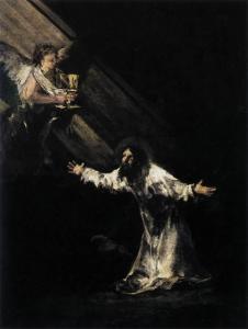 Francisco Goya, Christ on Mount of Olives