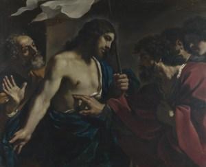 Guercino, Incredulity of Saint Thomas