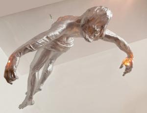 Cindy Jackson, Falling Jesus Swag Lamp