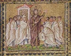Incredulity of St. Thomas (mosaic)