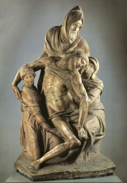 Michelangelo_Unfinished Pieta